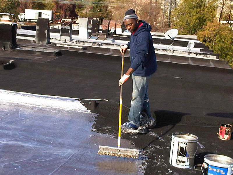 Flat Roof Coating: Baltimore, MD