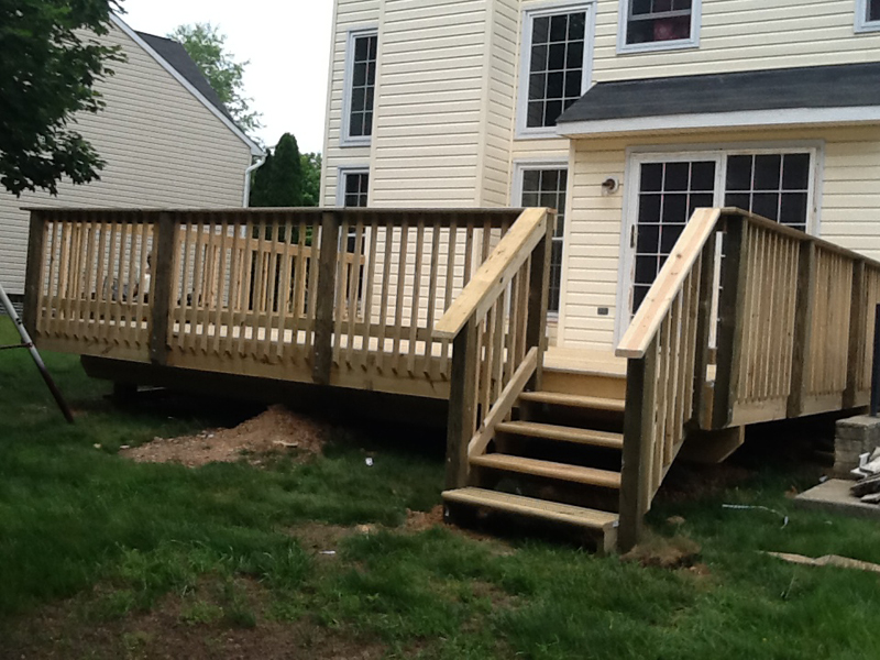 Deck Construction: Spring Dale, MD